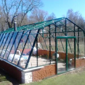 40 m² växthus